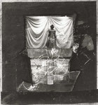 """""""Ich denke sowieso mit dem Knie"""" (Joseph Beuys), Mischtechnik, 1989"""
