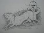 Alfred Hrdlicka, der Hund der geniale, † 5. Dezember 2009
