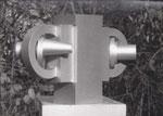 Doppelrohr, Aluminium, 1970