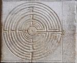 Fingerlabyrinth, Kathedrale von Lucca, 13. Jahrhundert