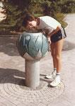 Trinkbrunnen, Realschule Güglingen, 1985
