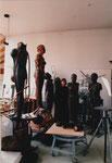 Figuren im Atelier, 1998