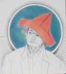 Vernarrt (Heinz Rall), Zeichnung, 1990