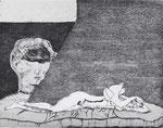 Dunkles Wachen, Aquatinta, 1981