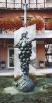Bacchusbrunnen, Zaberfeld-Löweneck, 1993