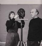 Ursua Stock porträtiert Heinz Rall, 1990