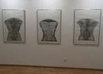 3 Zeichnungen aus der Busti-Serie