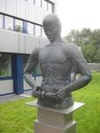 Hydrauliker, Bronze, Firma Weber-Hydraulik, Güglingen, 1985