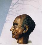 Porträt Architekt Heinz Rall, Bronze, 1990