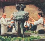 Weinbrunnen, Güglingen, 1979