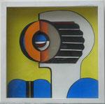 Raumschnitt, Collage, 1971