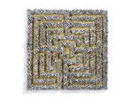 Labyrinth | 100x100x6 cm