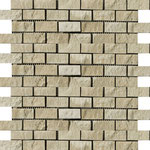 Tapete Travertino beige 1x2