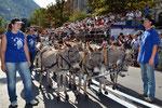 9-11.09.2011 Coire fête fédérale, défilé des ânes de la Chaux-d'Abel
