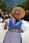 9-11.09.2011 Coire fête fédérale, Jacqueline Amez-Droz en cortège