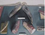 Vitrine, 36 x 48 cm, huile sur toile, 2013