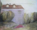 Cynthia, 100 x 120 cm, huile sur toile, 2006