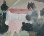 Colombey, 54 x 65 cm, huile sur toile