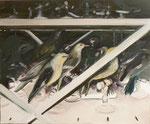 Les oiseaux, 60 x 73 cm, 2012