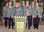 Die Herrenmannschaft aus Bornberg als Kreisbannersieger der Schützen