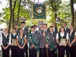 Gruppenbild der erfolgreichen Wingster Jungschützen: Westerhamm, Zollbaum-Wingst und Grift