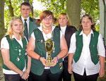Die Jungschützmannschaft aus Bornberg wurde Gewinner des Juniorenpokales