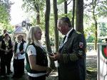 Beste Junioren beim Pokalwettkampf wurde Monika Mahler vom Schützenverein Bornberg