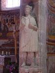 Müstair: Originalabbildung Karls des Großen (um 800)