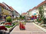 St. Veit /Glan: Hauptplatz / Sankt Veit an der Glan ist ein besonders hübsches Städtchen