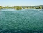 Bei Stein am Rhein: Wo der Bodensee wieder zum Rhein wird