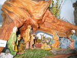 Krippe beim Hadreser Adventmarkt