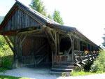 Alte Holzbrücke bei Heinfels
