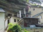Imst, Tirol: Häuser am Eingang zur Rosengartenschlucht