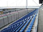 Als einsamer Besucher am Lausitzring.