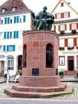 Kepler-Denkmal in seinem Geburtsort Weil der Stadt