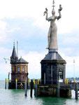 Konstanz: Hafeneinfahrt