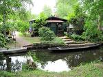 In Leipe und Lehde hat praktisch jedes Haus sein Boot.