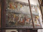 Maria Saal: Fresko in der Kirche