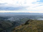 Christchurch - Ausblick vom Mount Cavendish