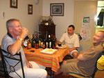 ein feuchtfröhlicher Abend bei unseren Berufskollegen in Hermannsburg