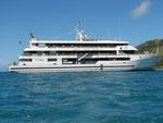 Mit der Blue Lagoon Cruise auf der Fiji Princess durch die Yasawa-Inseln
