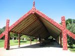 Waitangi - die Geburtsstätte Neuseelands, hier fand die 1840 Vertragsunterzeichnung zwischen Maoris und Briten statt