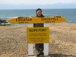 Slope Point - der südlichste Punkt Neuseelands