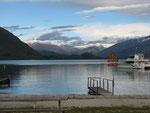Lake Wanaka - das erste und einzige Mal, dass das Wildcampen nicht toleriert wurde und wir am Morgen weggeschickt wurden