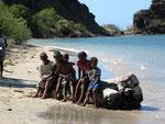 Kinder auf den Inseln