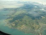 die letzten Blicke auf das schöne Neuseeland