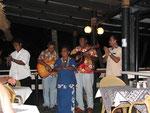 """ein letztes Abschiedständchen mit dem uns bereits bekannten fijianischen Lied """"Isa lei..."""""""