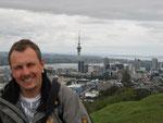 über den Hügeln von Auckland