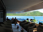 die Lounge zum Relaxen