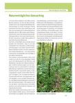 """Ein eigenes Kapitel widmet sich dem """"Geocaching und Naturschutz"""""""